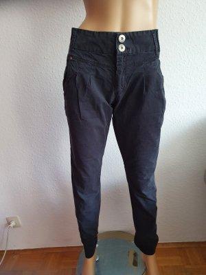 Only Jeanswear Vaquero estilo zanahoria negro