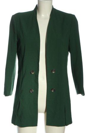 Only Long-Blazer grün Business-Look