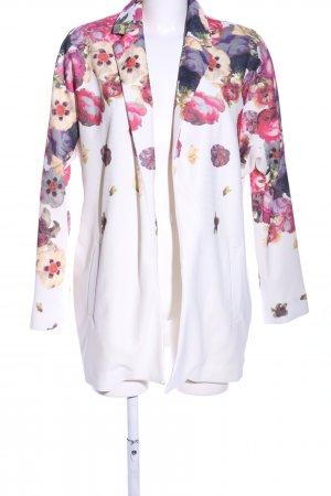 Only Long-Blazer Blumenmuster Casual-Look