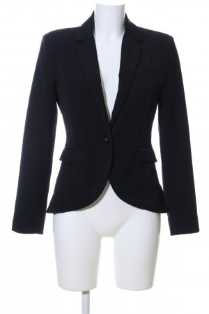 Only Long-Blazer schwarz Business-Look