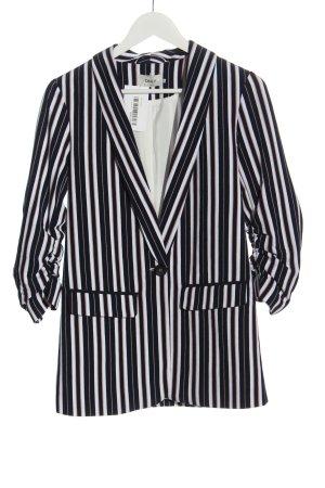 Only Lange blazer gestreept patroon casual uitstraling