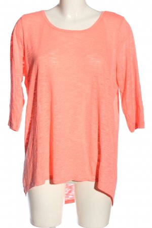 Only Long-Bluse pink meliert Casual-Look