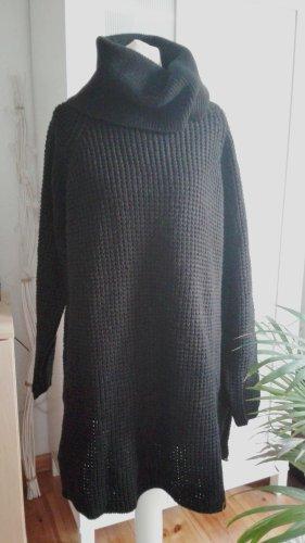 Only Long Pullover Kleid Strick Rollkragen