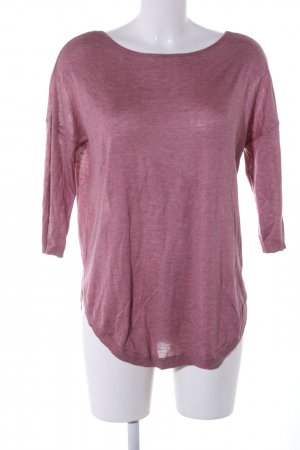 Only Longpullover pink meliert Casual-Look