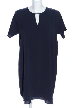 Only Longshirt blau Business-Look
