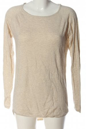 Only Longshirt creme meliert Casual-Look