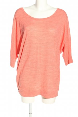 Only Longshirt hellorange Casual-Look