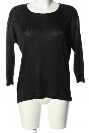Only Longsleeve schwarz Casual-Look