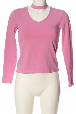 Only Longsleeve pink Casual-Look