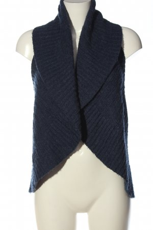 Only Long Knitted Vest blue casual look