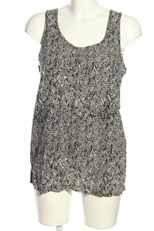 Only Long Top black-white abstract pattern casual look