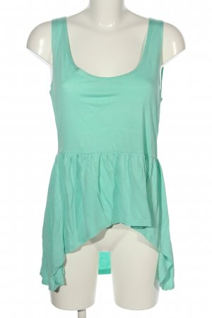 Only Long Top turquoise casual look