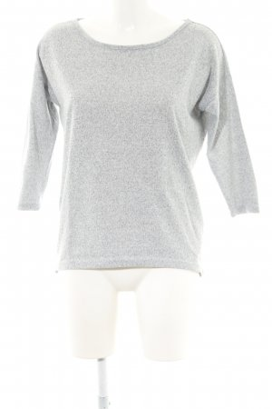 Only Long Top light grey flecked casual look