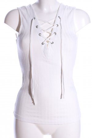 Only Longtop weiß Casual-Look