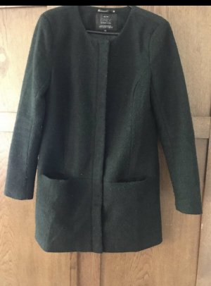 Only Wool Coat dark green