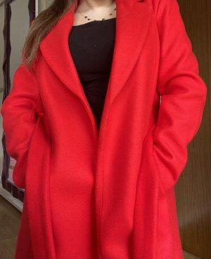 Only Marynarski płaszcz czerwony