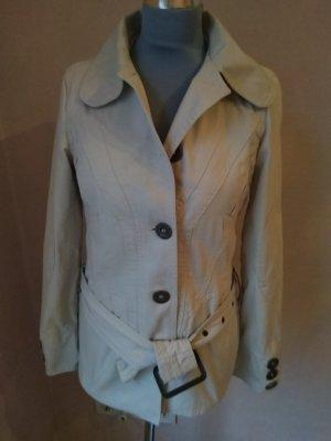Only Mantel , Trenchcoat , Beige mit Gürtel, Größe S , 100% Cotton