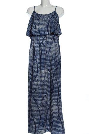 Only Maxikleid blau-weiß Casual-Look