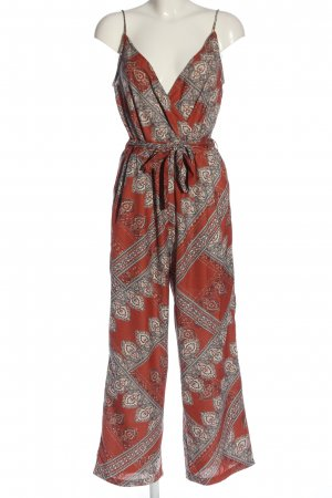 Only Jumpsuit abstraktes Muster Casual-Look