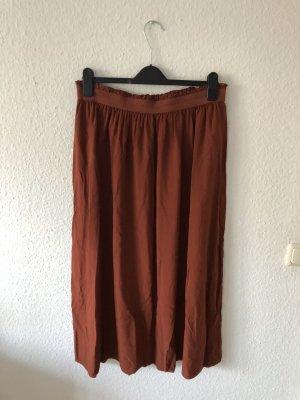 Only Maxi rok roodbruin-roodbruin