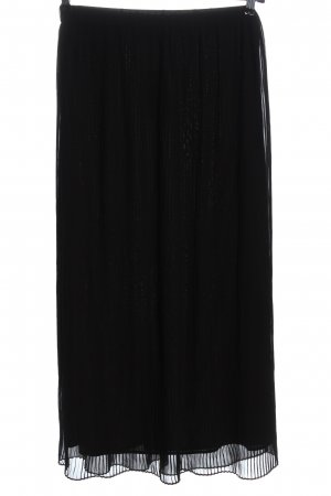 Only Falda midi negro estilo «business»