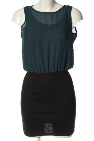 Only Minikleid blau-schwarz Casual-Look