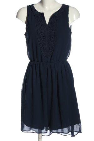 Only Minikleid blau Casual-Look