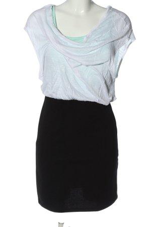 Only Minikleid weiß-schwarz Casual-Look