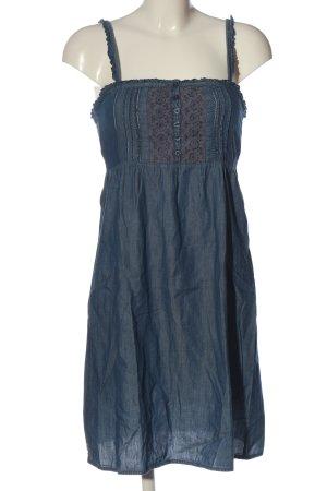 Only Minikleid blau-hellgrau Casual-Look