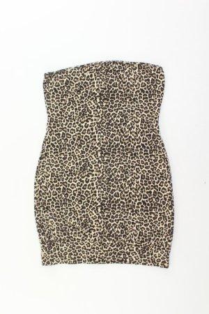 Only Minikleid Größe M braun aus Baumwolle