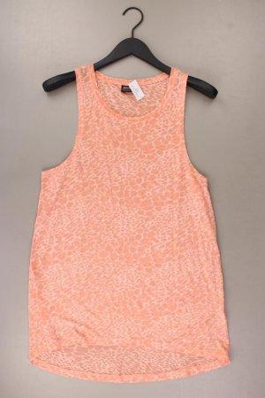 Only Minikleid Größe M orange aus Baumwolle