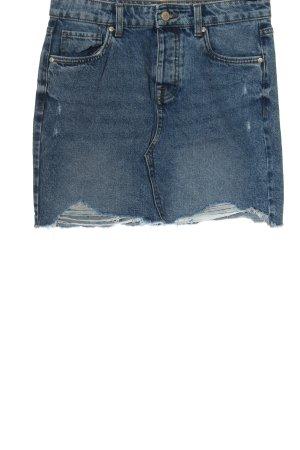 Only Minigonna blu stile casual