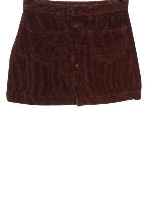 Only Mini-jupe brun style décontracté