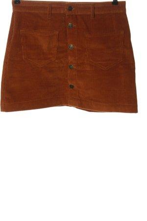 Only Minirock bronzefarben Casual-Look