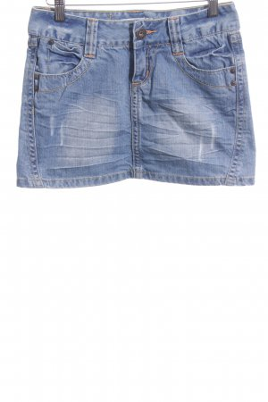 Only Minirock blau Casual-Look