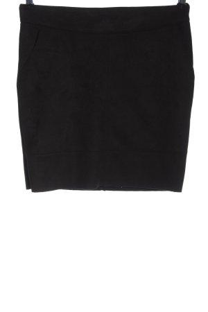 Only Minifalda negro look casual