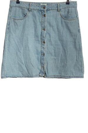 Only Minirock blau Casual-Look