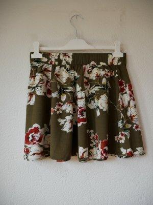 Only Minirock mit Blumenmuster