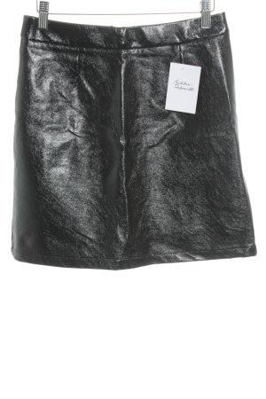 Only Minirock schwarz Street-Fashion-Look
