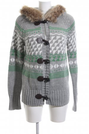 Only Norweger Strickjacke grafisches Muster Casual-Look