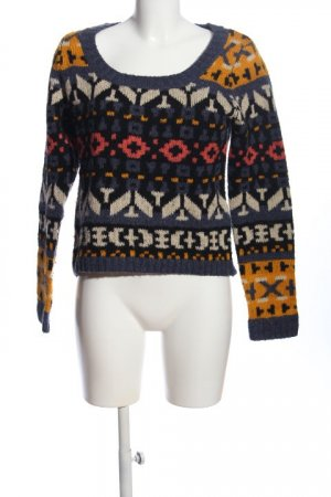 Only Maglione norvegese stampa integrale stile casual
