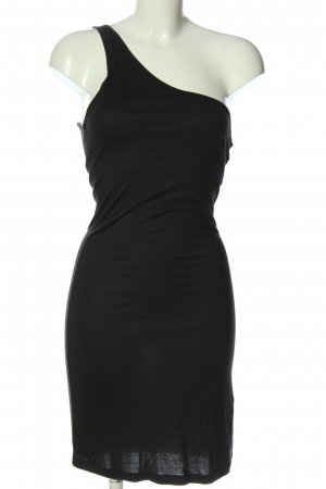 Only One Shoulder Dress black elegant