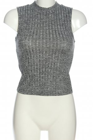 Only One Knitted Top light grey casual look