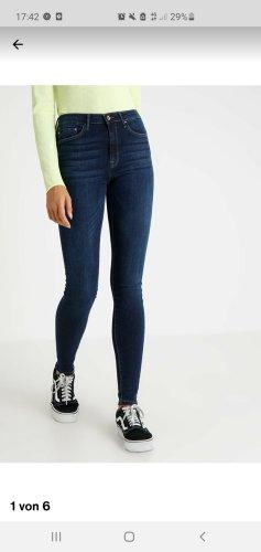 Only Onlpaola - Jeans skinny Fit - dark blue Denim