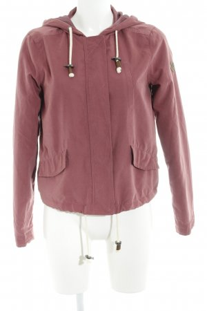 Only Outdoorjacke violett Casual-Look