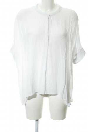 Only Oversized Bluse weiß Elegant