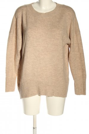 Only Oversized Pullover wollweiß Casual-Look