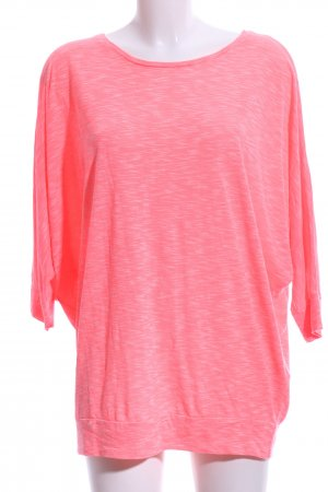 Only Oversized Shirt pink meliert Casual-Look