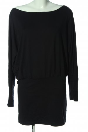 Only Sweaterjurk zwart casual uitstraling