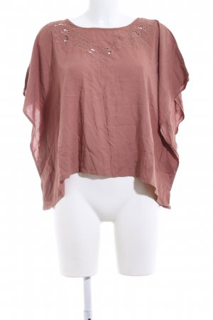 Only Oversized Shirt light orange casual look